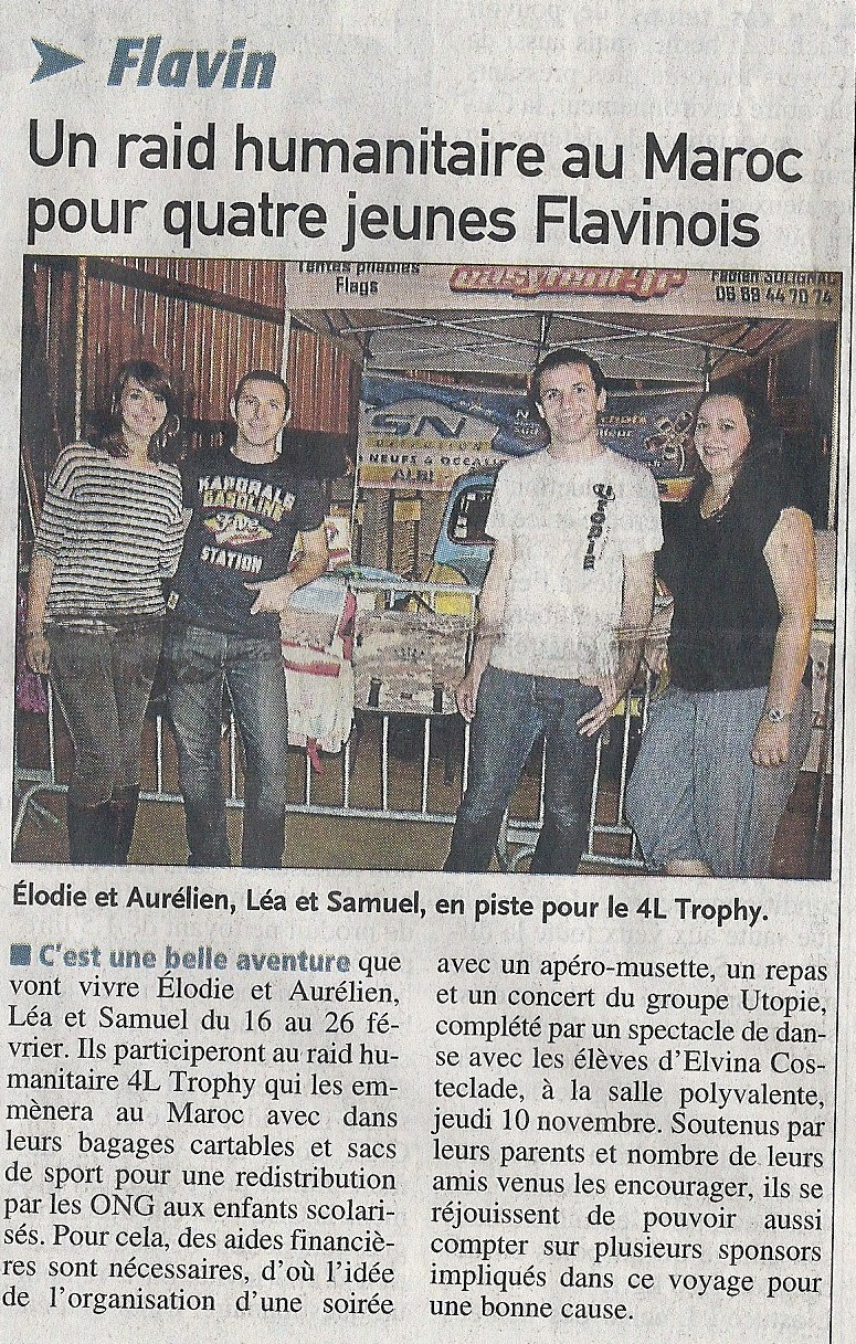 Article soiree