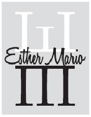 Logo Esther Mario